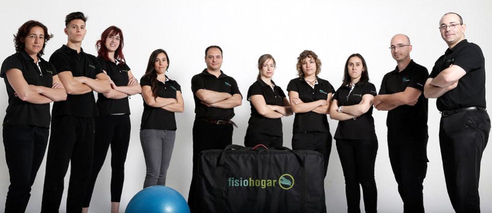 Fisioterapeutas colegiados de Fisiohogar