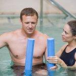 ¿Natación o fisioterapia en el agua?
