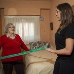Ejercicio terapéutico individualizado para personas mayores
