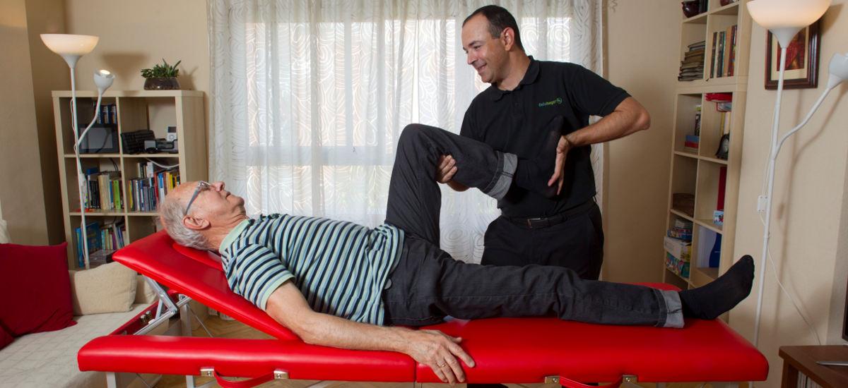 Fisioterapia para personas de la tercera edad