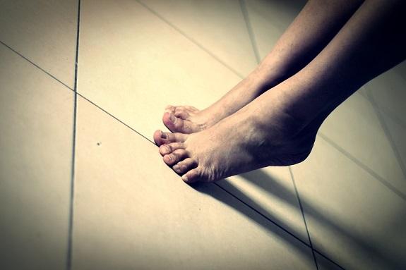 Lesión de pie