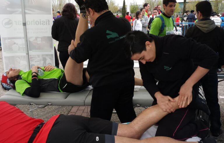 Fisioterapia para deportistas