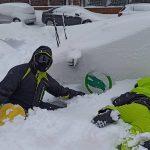 Los riesgos de las caídas en la nieve