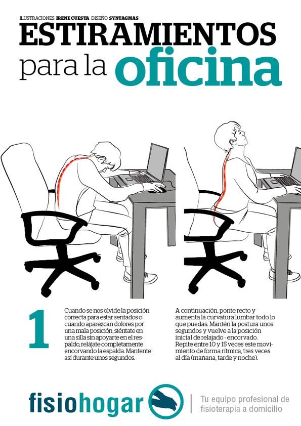 Causas comunes del dolor de espalda fisiohogar for Sillas para una buena postura